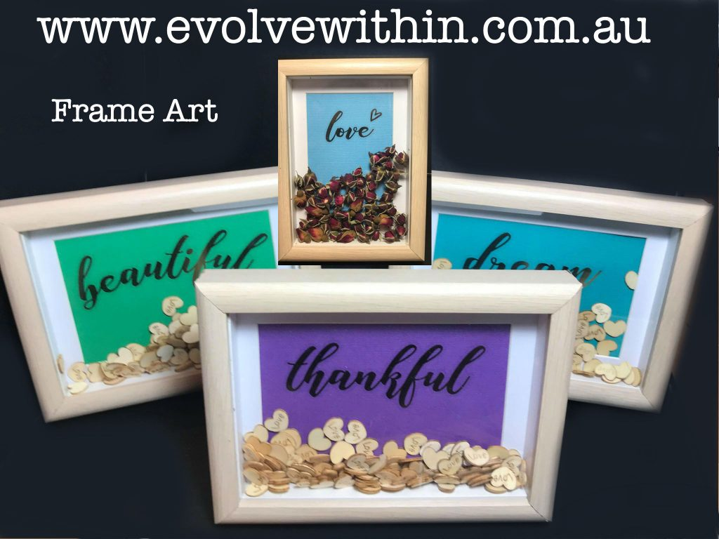 Word Art Frames - Art decor -