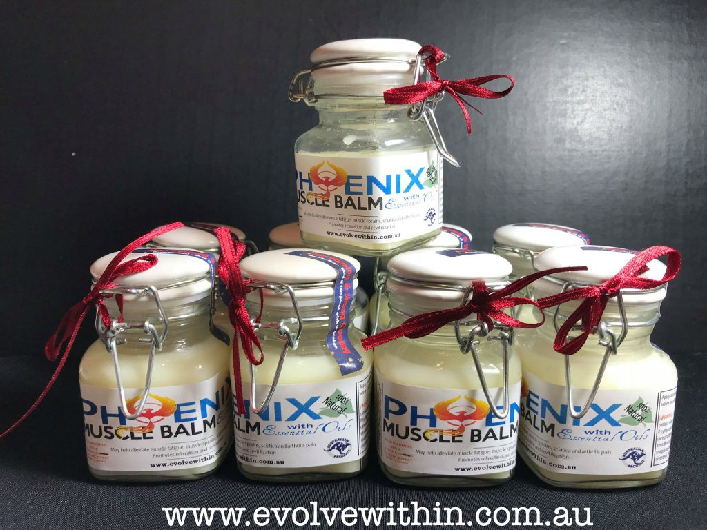 Evolve within Muscle Balm