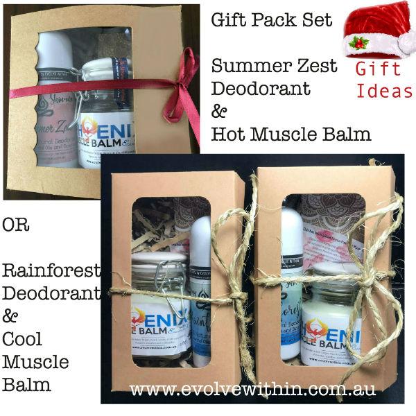 Evolve Within Christmas Gift Packs